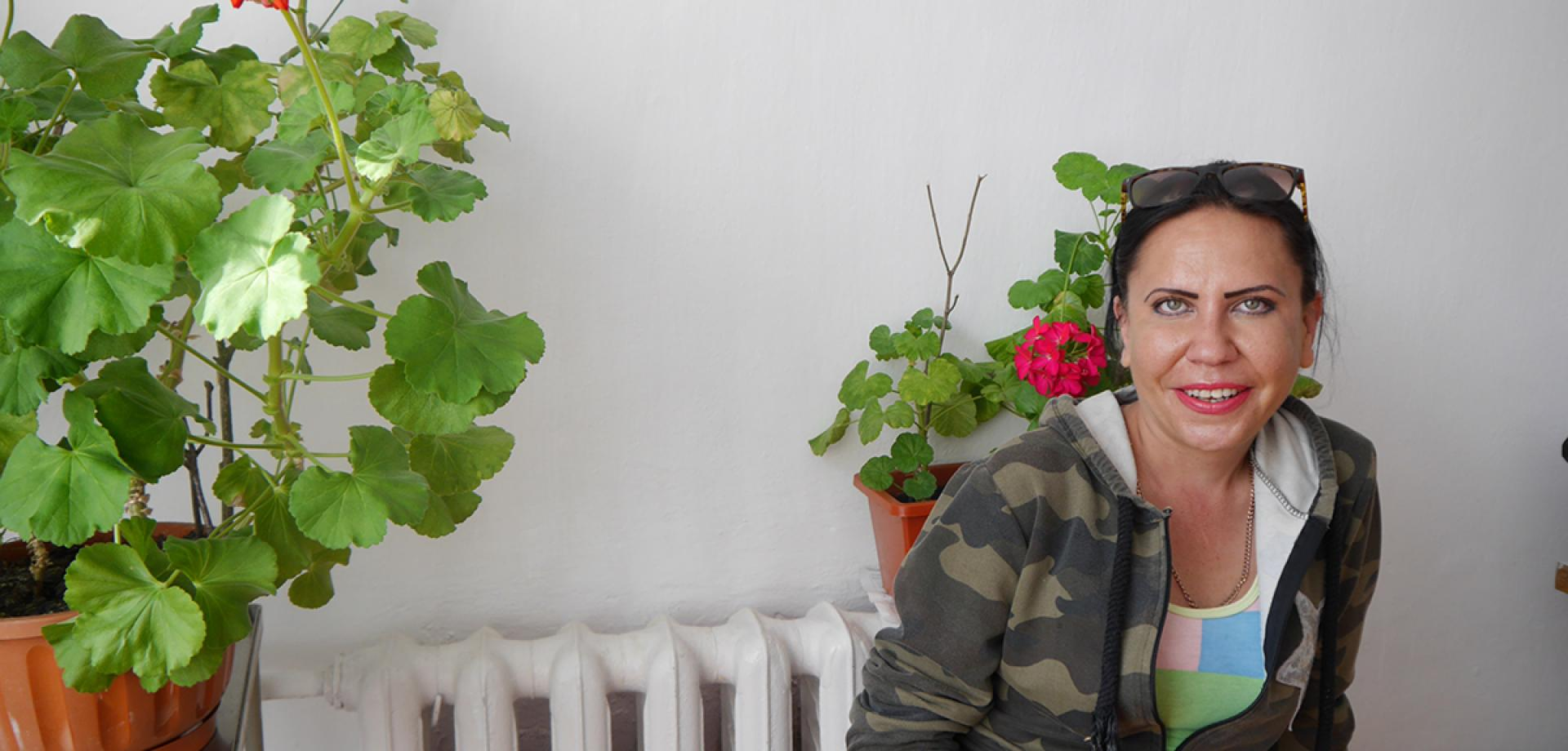 TB patient Svetlana is treated by MSF in Ukraine